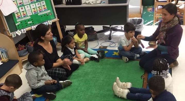 Mindfulness Class with the Littles